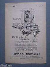 R&L Ex-Mag Advert: Dodge Brothers Victory &  Senior Car