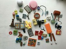 PLAYMATES INTERACTIVE THE SIMPSONS SERIES ACCESSORY BUNDLE LOT FOR FIGURES WOS