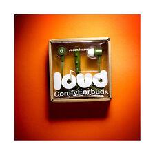 Loud Headphones Green Skateboard Jason Jesse Earbuds Headphones Clearance