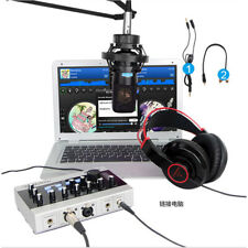 Alctron U16K MK3 USB Audio Recording Microphone External Sound Card Amplifier