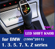 LED shift knob gear selector lever handle BMW E38 E39 E60 E46 E90 E92 E82 E89