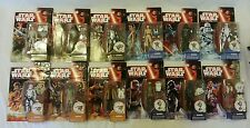"Star Wars The Force Awakens COMPLETE SET Lot of All 12 Wave 1 3.75"" Figures NEW"