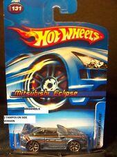 HOT WHEELS 2006 #131 -1 MITSUBISHI ECLIPSE SLVR/BLU 06 CA