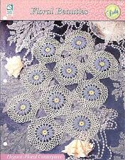 Elegant Floral Centerpiece Crochet Doily Pattern / Floral Beauties / HOWB