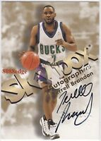1998-99 SKYBOX AUTOGRAPHICS AUTO: TERRELL BRANDON -AUTOGRAPH BUCKS/CAVS ALL-STAR