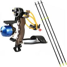 Hunting Fishing Folding Wrist Brace Slingshot Catapult Archery Bow Arrows Hunter