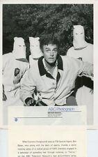 MIKE CONNORS FBI KKK MEMBERS WHITE HOODS TODAY'S FBI ORIGINAL 1981 ABC TV PHOTO