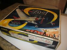 vintage COX Thimble Drome plane in TD-3 box with paperwork