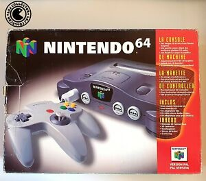 Pack Nintendo 64 - Super Mario 64 - Boite Vide - PAL