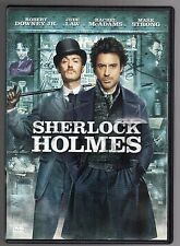 dvd SHERLOCK HOLMES Robert DOWNEY JR. Jude LAW Rachel McADAMS Mark STRONG
