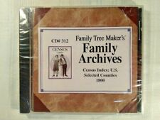 Family Tree Maker Archives Census Index: U.S. Selected Counties 1800 PC CD #312
