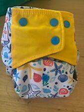 Oh! BabyKa! Modern Cloth Nappy OSFM MCN Seashell Print