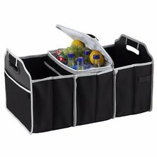 Car Van Truck Trunk Organizer Foldable Collapsible Storage Bag with Cooler