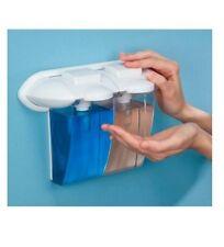 Dispensador de jabón gel Champú dosificador de pared doble tipo gaudi