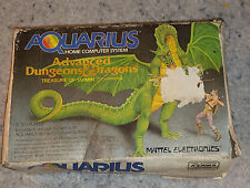 Mattel Aquarius Advanced Dungeons & Dragons Vintage,RARE, Hard to find