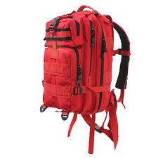 Medium Transport Rescue Pack Backpack Tactical Military Red EMS EMT Rothco 2977