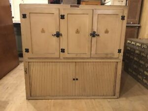 Hoosier Kitchen Cabinet - Top Only - Loaded w/ Parts and Hardware