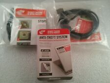 Laptop Security Cable Lock & Label Kit - Anti-Theft Security Hardware Kits - 3pc