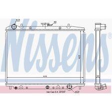Kühler, Motorkühlung NISSENS 630754