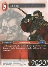 Final Fantasy TCG Auron Opus 1 1-002R Italiano