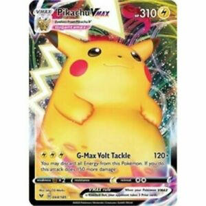 POKEMON TCG SS VIVID VOLTAGE : PIKACHU VMAX 044/185 - FULL ART