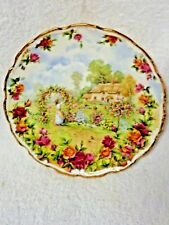 Royal Albert Old Country Roses A Celebration Garden Round Plate