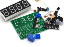 Electronic Clock C51 DIY Kit  4 LED RED All Components & alarm buzzer UK SELLER