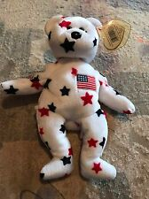 Ty Beanie Baby ~ GLORY the Bear ~ MINT with MINT TAGS ~ RETIRED