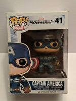 Funko Pop! Marvel The Winter Soldier: Captain America #41 Vaulted
