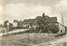 Freiberg, Bergbau, Alte Elisabethgrube, alte DDR-Foto-Ansichtskarte um 1970