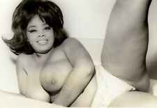 1960's BUSTY VINTAGE NUDE COLOR PHOTO 8. 5 X 11 GLOSSY QUALITY GUARANTEED!!
