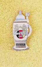 Hard rock cafe munich munich HRC precioso Grand opening beermug pin!!!