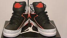 Nike Air Jordan 2 Retro, Black/Infrared, 23-PR, PLTNM-WHT, Size 9.5, DS