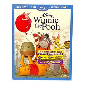 Winnie the Pooh (Blu-ray/DVD) (2011) 3-Disc Set NEW & SEALED With Slipcover