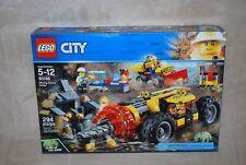 LEGO New 60186City Mining Heavy Driller Factory Sealed Box NISB