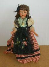 Ancienne poupée PETITCOLLIN tête d'aigle 35 - celluloid - années 50/60s