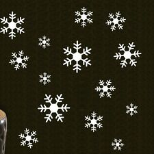 Large Snowflakes Christmas Wall Decals Vinyl Window Sticker Kids Nursery Decor