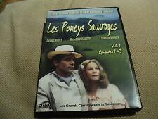 """RARE! COFFRET 2 DVD """"LES PONEYS SAUVAGES - VOLUME 1"""" Jacques WEBER, M DUCHAUSSOY"""