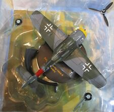 "IXO Focke-Wulf FW 190-A-8 Germany ""Yellow 12"" Military Aircraft DieCast 1:72 NEW"