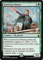 MTG x4 Generous Patron Battlebond Rare Green Magic the Gathering NM/M SKU#191