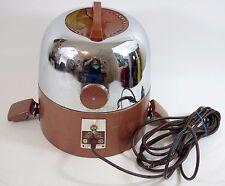 Vintage RAINBOW MODEL D Chrome Metal Top Canister Vacuum Motor Head REXAIR Part