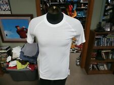 Adidas Ultimate Tee white size Small 100% polyester #29329