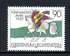 LIECHTENSTEIN MNH 1990 SG1005 500TH ANV OF REGULAR EUROPEAN POSTAL SERVICES