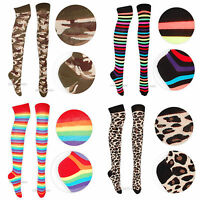 Womens Socks Party Over The Knee Socks Various Designs Fancy Dress