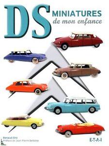 DS Miniatures de mon enfance, Diecast cars Citroën DS book