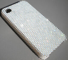 12ss WHITE OPAL Crystal Rhinestone Case for iPhone 5 5S with Swarovski Elements