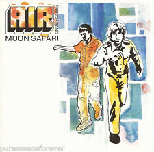AIR - Moon Safari (UK 10 Trk 1998 CD Album)