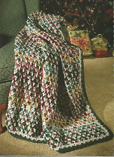 Crochet Pattern ~ SENDING WARM WISHES AFGHAN ~ Instructions