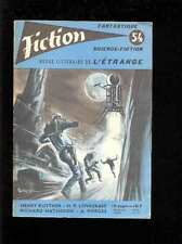 Fiction 54, 5.1958 couverture FOREST Henry KUTTNER H.P. LOVECRAFT R. MATHESON