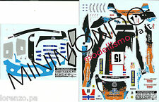 DECALS FORD FIESTA RS WRC OSTBERG RALLY SWEDEN 2012 1/24 COLORADO 24140